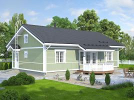 Bausatzhaus 105/1 - Kaufpreis 74.990.-- € inkl. 19% MwSt.