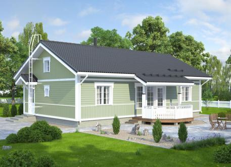 bis 200.000 € Bausatzhaus 105/1 - Kaufpreis 74.990.-- € inkl. 19% MwSt.