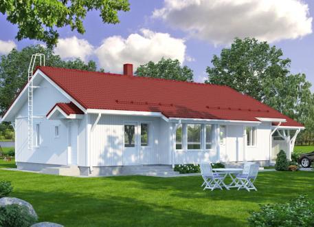 Bungalow Bausatzhaus 120/2 - Kaufpreis 85.830.-- € inkl. 19% MwSt.
