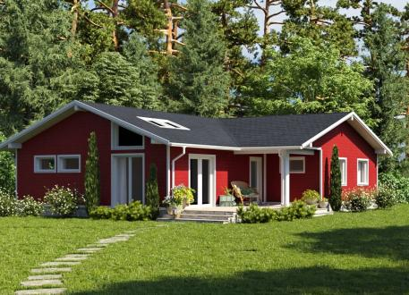 Bungalow Bausatzhaus 132 - Kaufpreis 47.860.-- € inkl. 19% MwSt.