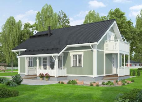 bis 400.000 € Bausatzhaus 132 - Kaufpreis 93.810.-- € inkl. 19% MwSt.