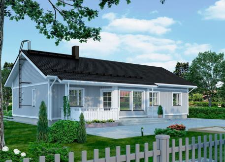 Bungalow Bausatzhaus 136/2 - Kaufpreis 88.580.-- € inkl. 19% MwSt. -