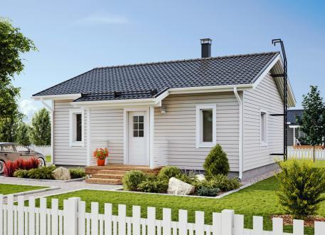 bis 100.000 € Bausatzhaus 65 - Kaufpreis 34.425.-- € inkl. 19% MwSt.