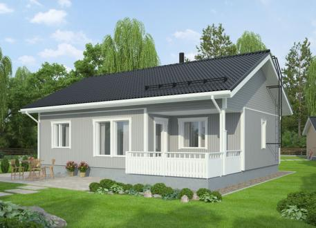 bis 150.000 € Bausatzhaus 71 - Kaufpreis 61.990.-- € inkl. 19% MwSt. -