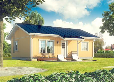 bis 100.000 € Bausatzhaus 78 - Kaufpreis 55.860.-- € inkl. 19% MwSt.