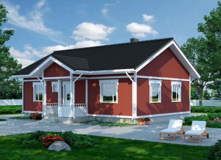 Bungalow Bausatzhaus 88 - Kaufpreis 65.740.-- € inkl. 19% MwSt. -