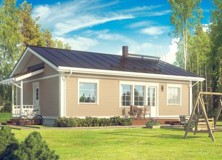 bis 100.000 € Bausatzhaus 90/1 - Kaufpreis 66.090.-- € inkl. 19% MwSt. -