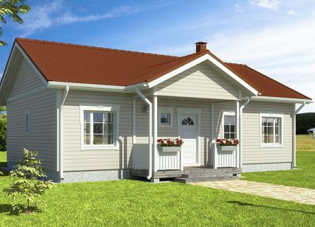 Bungalow Bausatzhaus 94/2 - Kaufpreis 59.900.-- inkl. 19% MwSt.