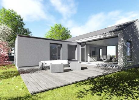 Einfamilienhaus Bungalow | BU1 | 129 qm | KfW55