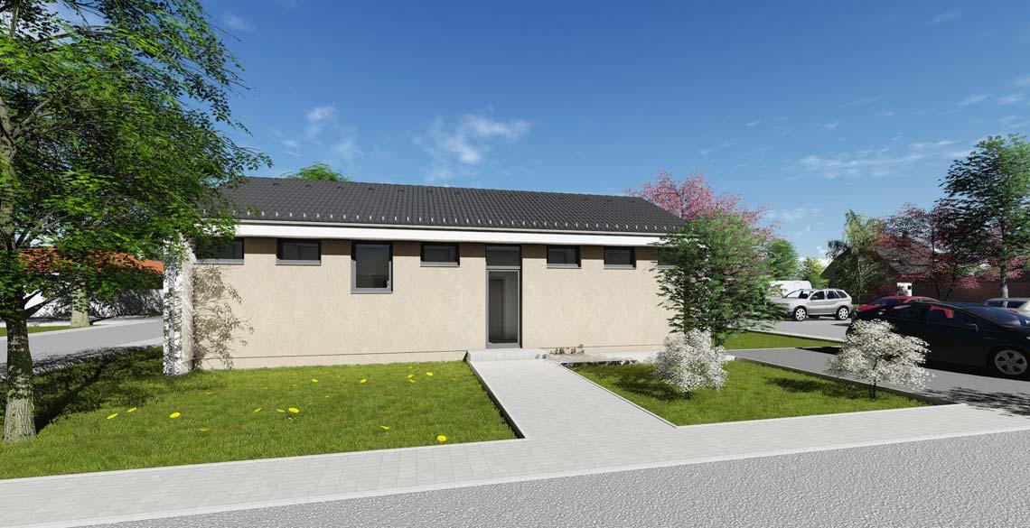 bungalow t2 80 qm kfw55 br uer architekten rostock. Black Bedroom Furniture Sets. Home Design Ideas