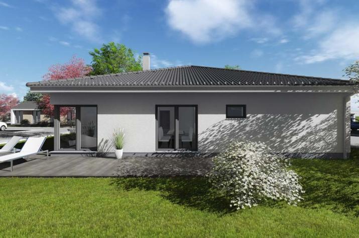 ᐅ Bungalow | T3 | 124 qm | KfW55 | Bräuer Architekten Rostock