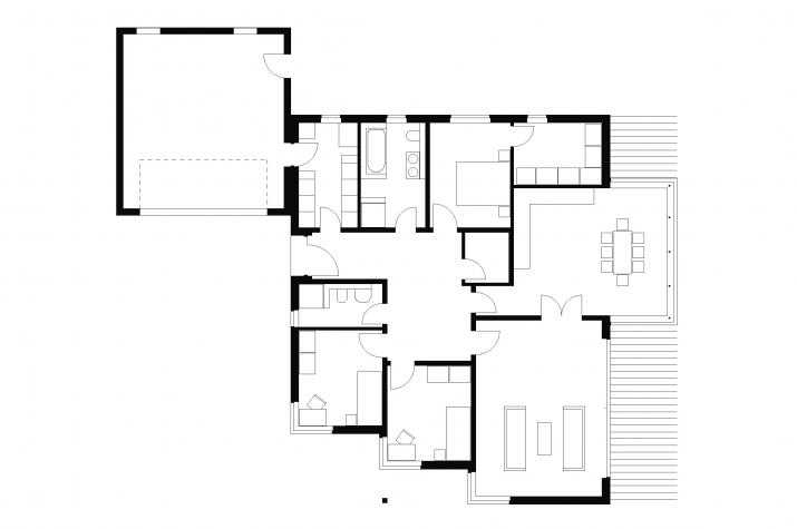 ᐅ Bungalow | T4 | 140 qm | KfW55 | Bräuer Architekten Rostock