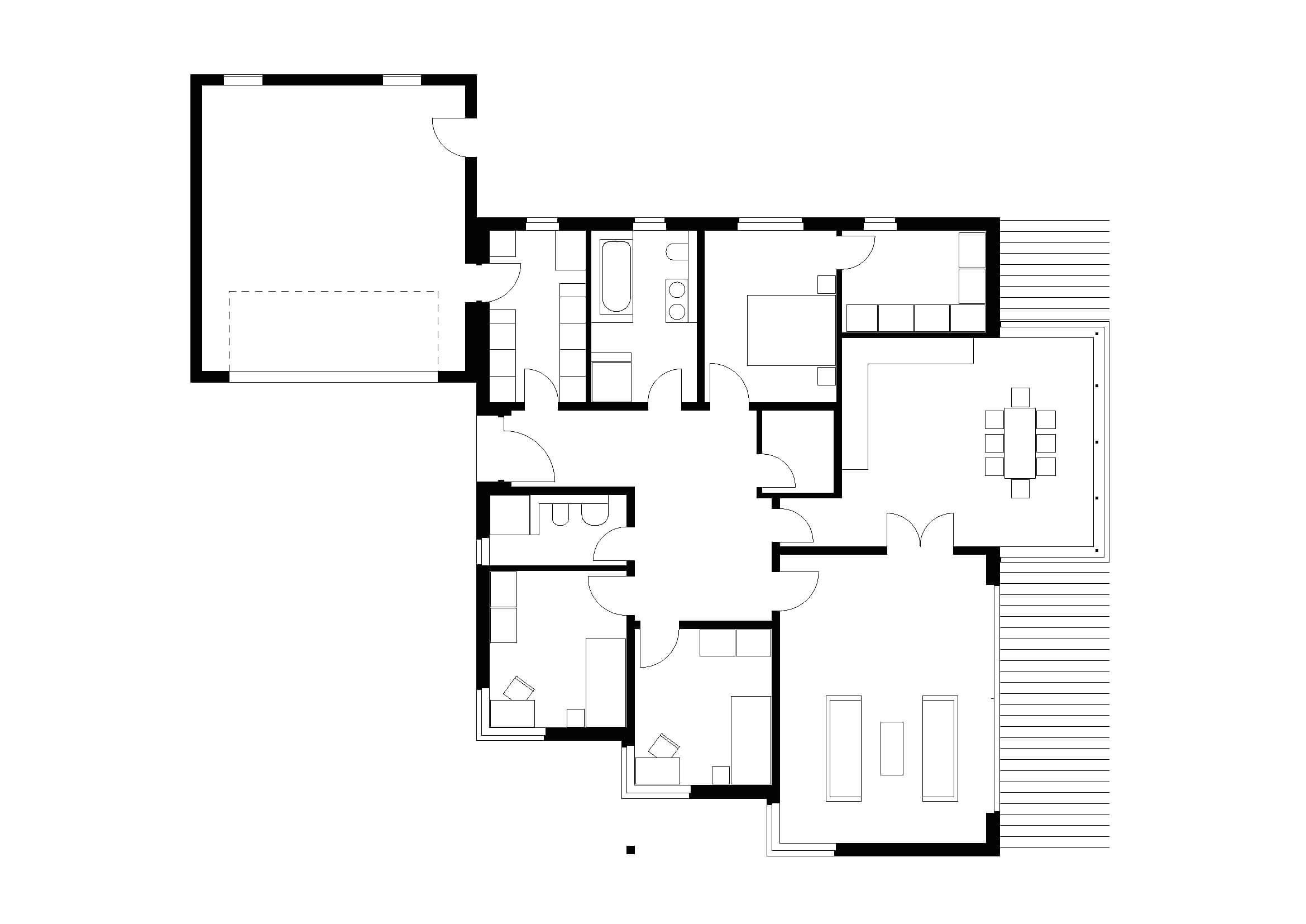 ᐅ Bungalow   T4   140 qm   KfW55   Bräuer Architekten Rostock