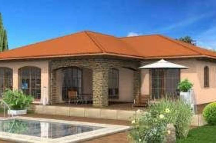 bungalow 052 klimathermhaus vertrieb gmbh. Black Bedroom Furniture Sets. Home Design Ideas