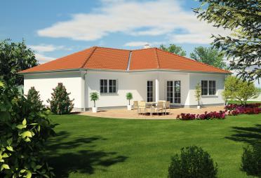 bungalow bis euro bis 300 m fertighaus. Black Bedroom Furniture Sets. Home Design Ideas