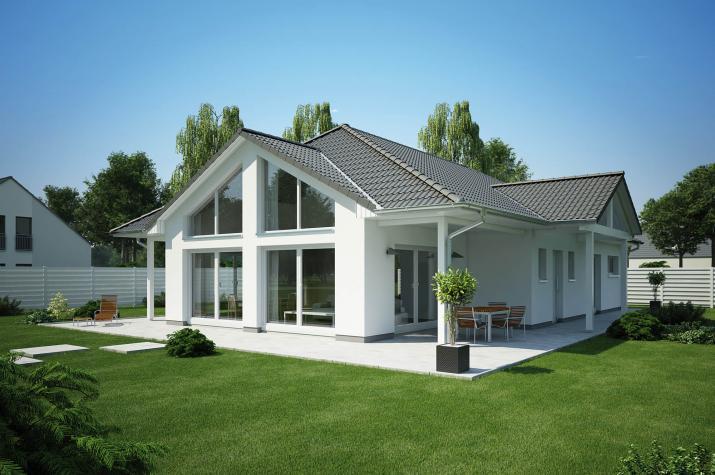 bungalow 135 energiesparhausplus. Black Bedroom Furniture Sets. Home Design Ideas