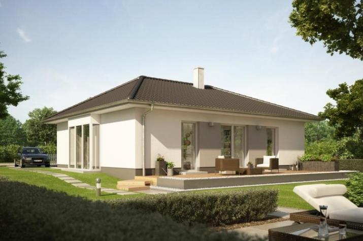fertighaus bungalow 80 qm great fein kleines fertighaus. Black Bedroom Furniture Sets. Home Design Ideas
