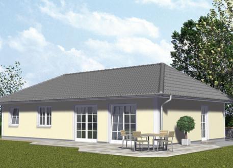 Musterhaus bungalow mit garage  ᐅ BUNGALOW bauen ▷ 208 Bungalows mit Grundrissen & Preisen