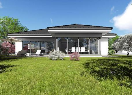 Winkelbungalow bauen bungalow in l form for Bungalow u form