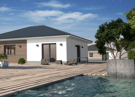 bis 300.000 € Bungalow mit 80 m² - Kleines Raumwunder