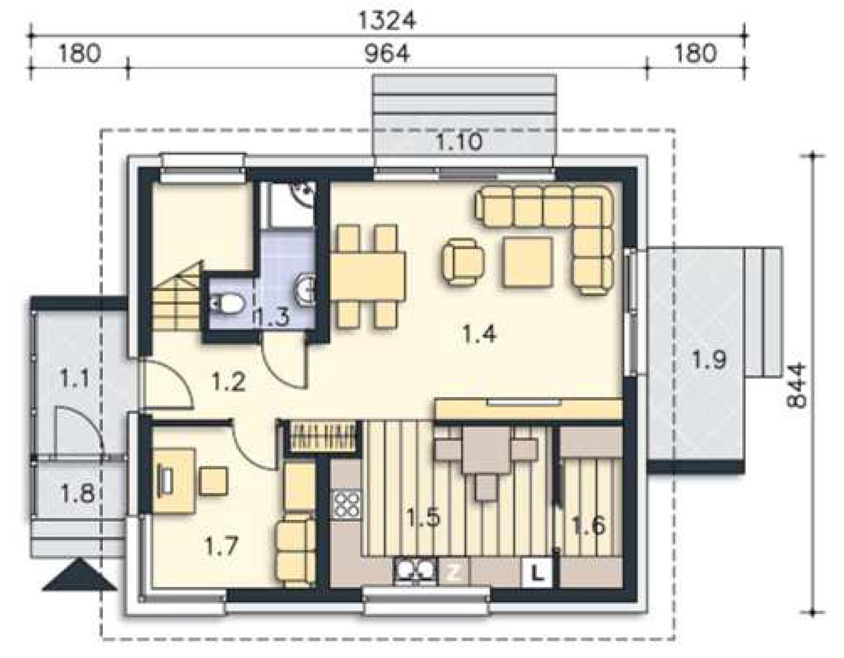 cef haus wastl 109 cmf creativ massiv flexibel hausbau gmbh. Black Bedroom Furniture Sets. Home Design Ideas