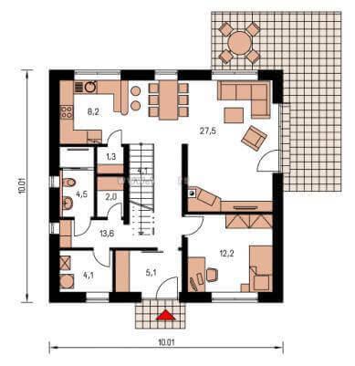 cef spek 157 cmf creativ massiv flexibel hausbau gmbh. Black Bedroom Furniture Sets. Home Design Ideas