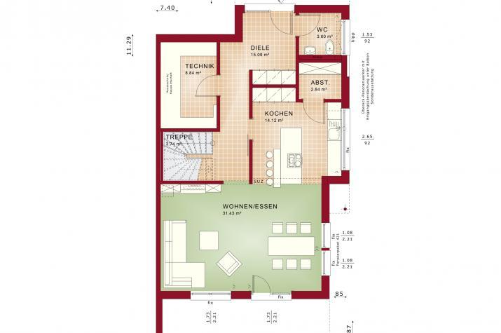 CELEBRATION 139 V5 XL - Erdgeschoss
