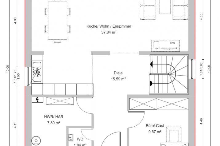 CLASSIC 1 - Erdgeschoss