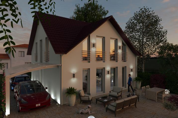 CLASSIC 1 - Terrasse in Abendstimmung