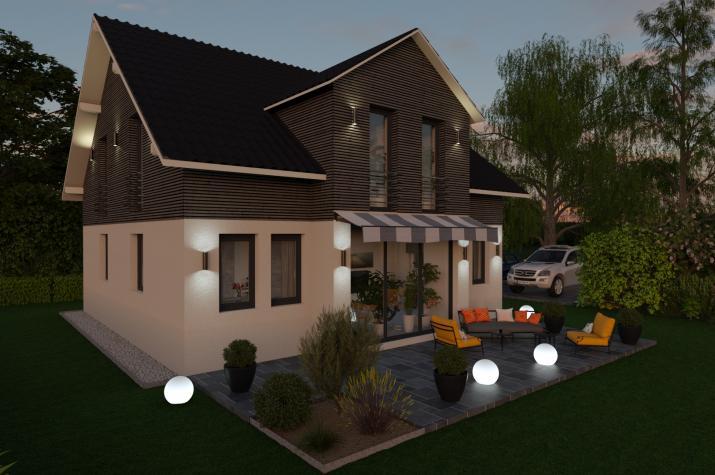 CLASSIC 3 - Terrasse am Abend