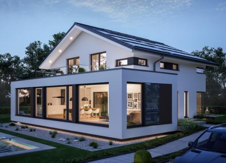 Frei planbare Häuser CONCEPT-M 210 Günzburg