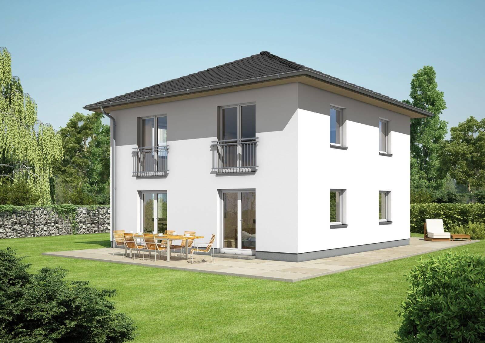 city 167 mit zeltdach individuell planbar energiesparhausplus. Black Bedroom Furniture Sets. Home Design Ideas