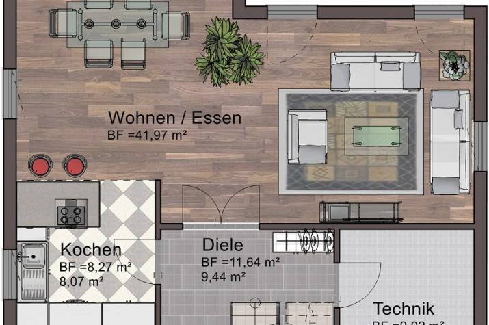 Classic Line 17 - Erdgeschoss