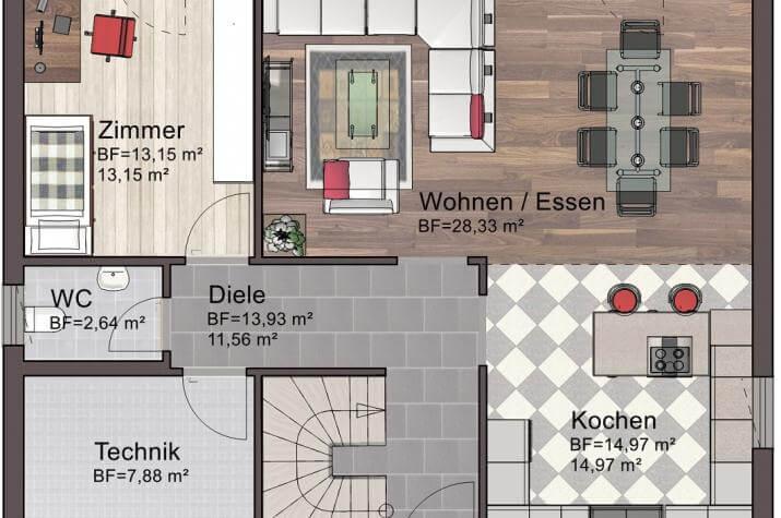 Classic Line 1 - Erdgeschoss