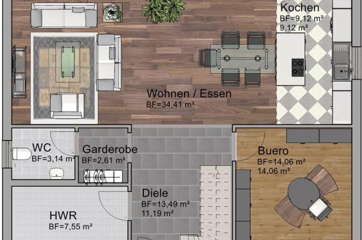 Classic Line 2 - Erdgeschoss