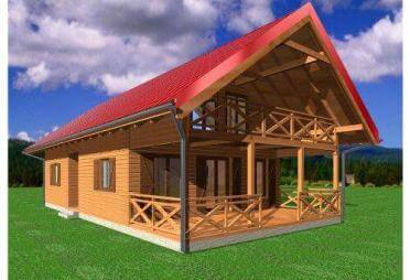 blockhaus bis euro bis 400 m fertighaus. Black Bedroom Furniture Sets. Home Design Ideas