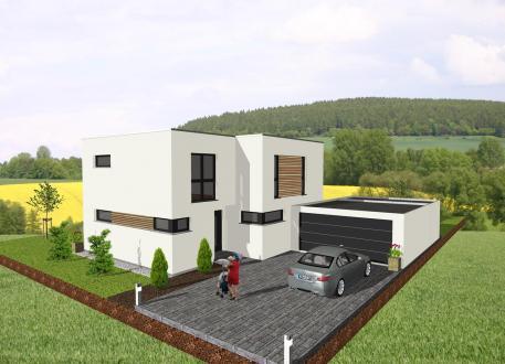 Einfamilienhaus Das Bauhaus für die ganze Familie - www.jk-traumhaus.de
