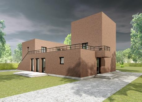 Haus mit Einliegerwohnung Das Geschwisterhaus 2 in 1 H02