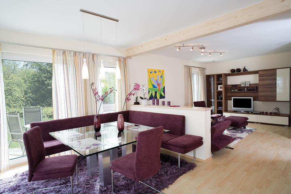 das haus mit dem berzeugenden wohnkonzept systemhaus hausvertrieb. Black Bedroom Furniture Sets. Home Design Ideas