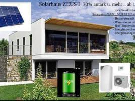 Das preisgünstige SOLARHAUS_Zeus Energiekosten Ersparnis von 70 Prozent und mehr Bausatz ab 112900