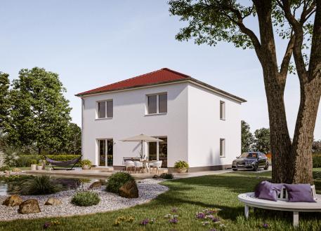 Einfamilienhaus Der Unveränderliche V15 Putz in NRW und Hessen