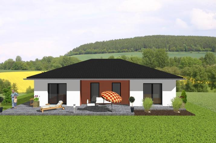 der winkelbungalow f r die ganze familie jk traumhaus. Black Bedroom Furniture Sets. Home Design Ideas