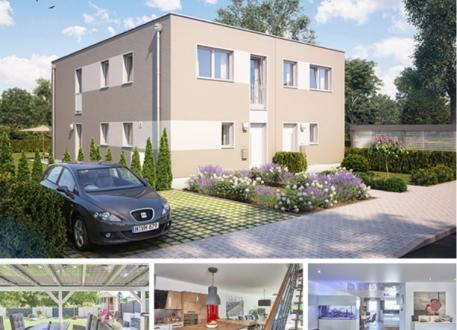 Zweifamilienhaus Doppel- / Reihenendhaus F281 in NRW undHessen