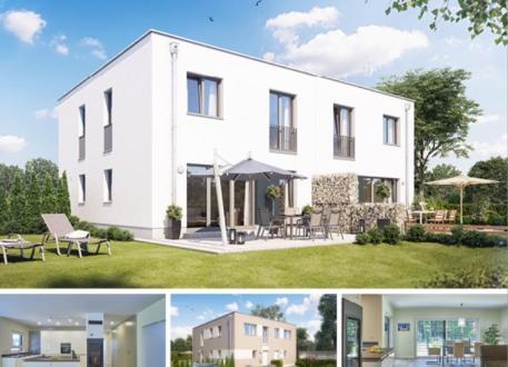 Zweifamilienhaus Doppel- / Reihenendhaus F551 in NRW und Hessen