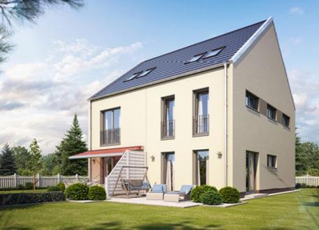 Zweifamilienhaus Doppel- / Reihenendhaus S150 in NRW und Hessen