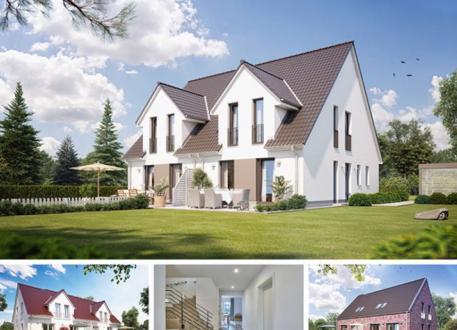 Zweifamilienhaus Doppel- / Reihenendhaus S360 in NRW und Hessen