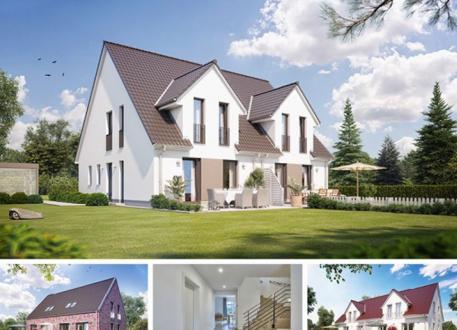 Doppelhaus Doppel- / Reihenendhaus S361