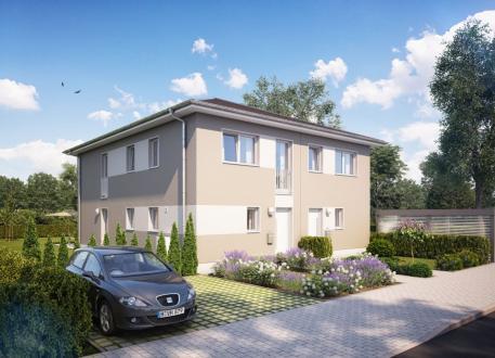 Stadthaus Doppel- / Reihenendhaus Z281 in NRW und Hessen