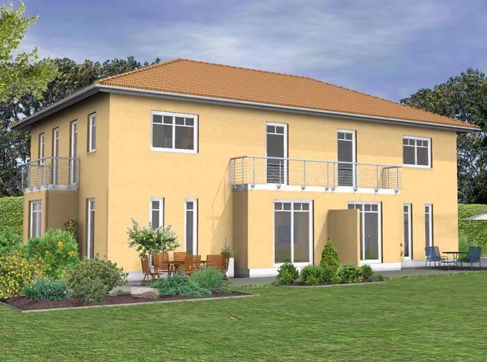 Doppelhaus duo 118 for Doppelhaus oder zweifamilienhaus