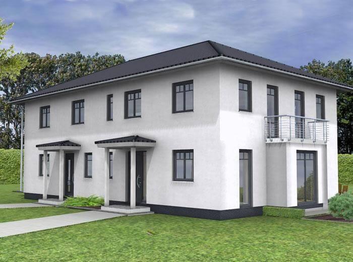 ᐅ Zweifamilienhaus Bauen 132 Zweifamilienhäuser Mit Grundriss Und